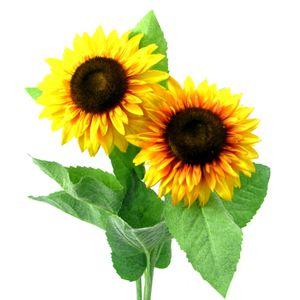 Künstliches Sonnenblumen Set Länge ca. 55 cm