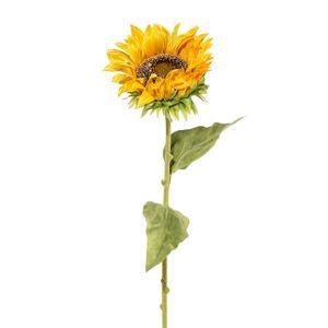 Künstliches Sonnenblume 3er Set Länge ca. 66 cm