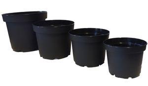 10er Set Blumentopf MCI Containertopf aus Kunststoff – Bild 1
