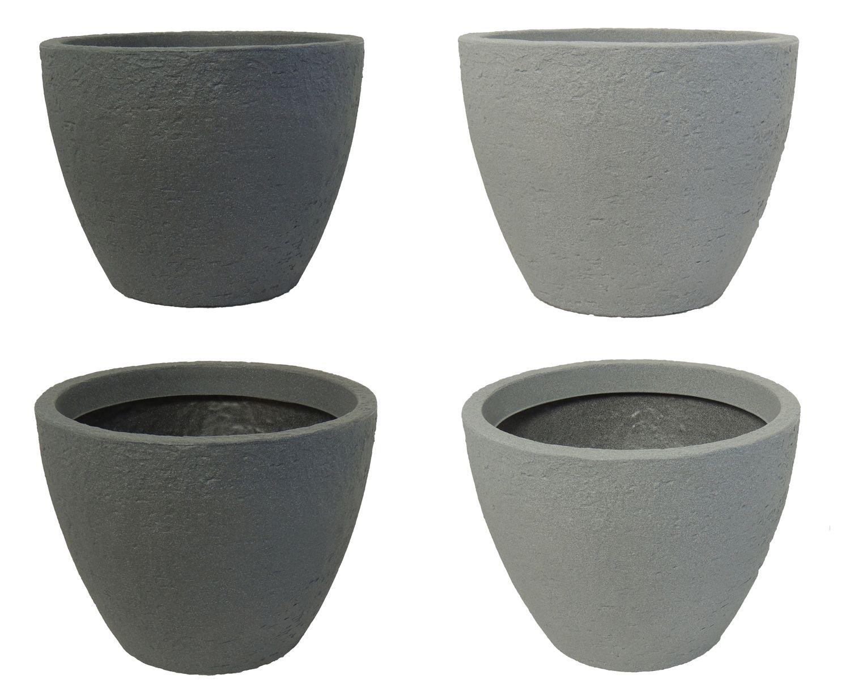 Pflanzkübel 70 Cm Durchmesser.Pflanzkübel Stone 80 Cm Durchmesser Aus Kunststoff Steinoptik