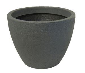 Pflanzkübel Stone 80 cm Durchmesser aus Kunststoff Steinoptik   – Bild 3