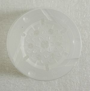 20 Stück Orchideentöpfe transparent in versch. Größen   – Bild 3