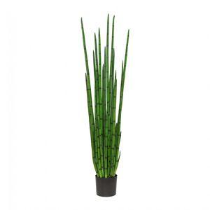Sanseveria cylindrica Kunstpflanze 160 cm im Topf