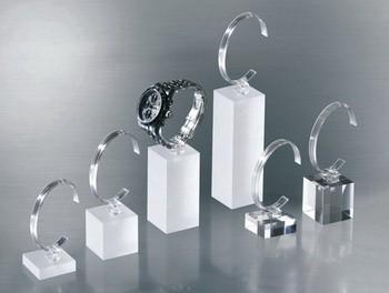 Uhrensäule, klar, Höhe: 4 cm