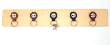Loxx Schlüsselanhänger Set - glatter Kopf Chrom – Bild 8