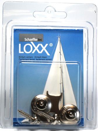 Loxx Box Nickel - 2 Kopf klein 2 Schrauben 16mm