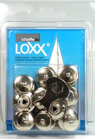 Loxx Box Nickel - 10 Kopf groß