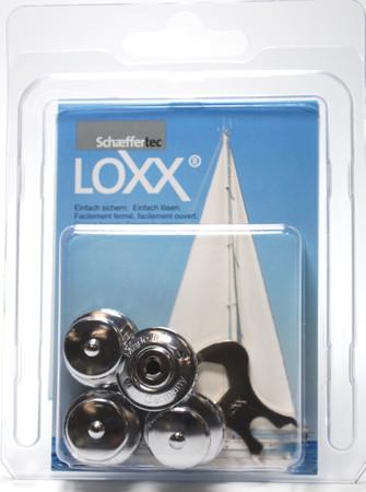 Loxx Box Chrom - 4 Kopf groß