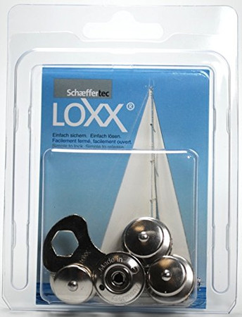 Loxx Box Marine - 4 Kopf groß Edelstahl