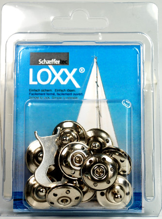 Loxx Box Nickel - 10 lower parts for fabrics