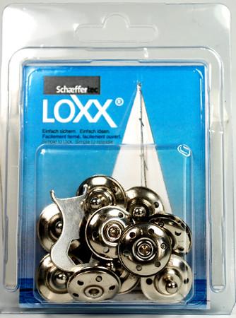 Loxx Box Nickel - 10 Stoffunterteile – Bild 1