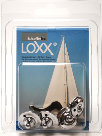 Loxx Box Chrome - 4 lower parts for fabrics