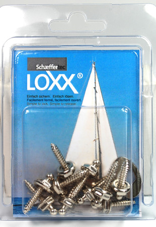 Loxx Box Nickel - 10 Screws 16mm