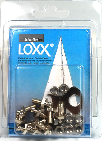 Loxx Box Nickel - 10 Screws M5 10mm