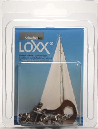 Loxx Box Edelstahl - 4 Schrauben 12mm