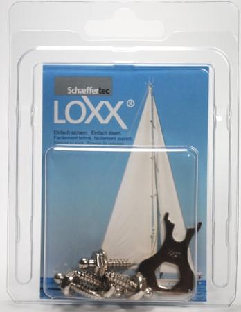 Loxx Box Nickel - 4 Schrauben 12mm