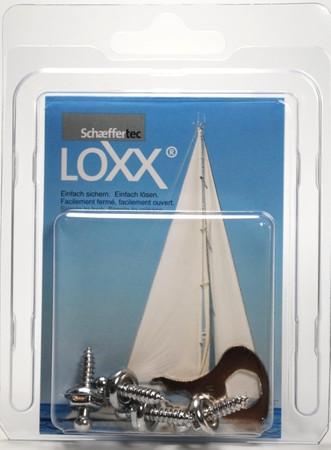 Loxx Box Chrom - 4 Schrauben 12mm