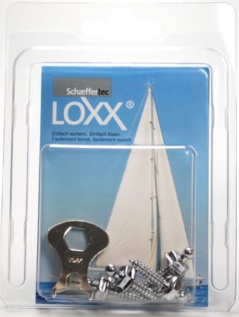 Loxx Box Chrom - 4 Schrauben 16mm