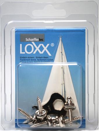 Loxx Box Nickel - 5 Schrauben hoch 16mm