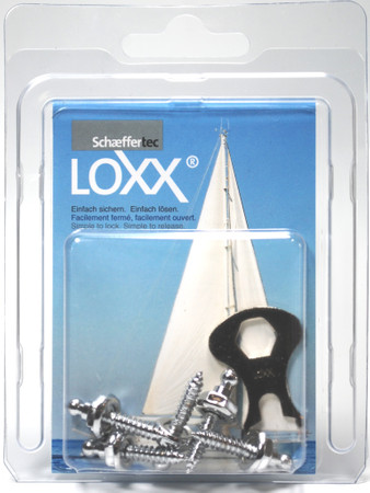 Loxx Box Chrome - 5 Screws high 16mm
