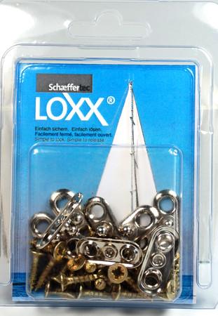 Loxx Box Nickel - 10 Ovale Platten – Bild 1