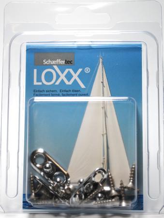 Loxx Box Nickel - 4 Oval plates