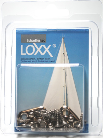 Loxx Box Chrome - 4 Oval plates