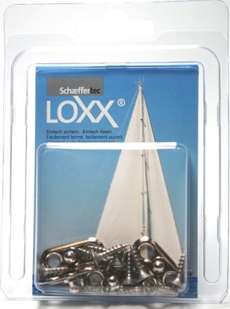 Loxx Box Chrom - 4 Ovale Platten