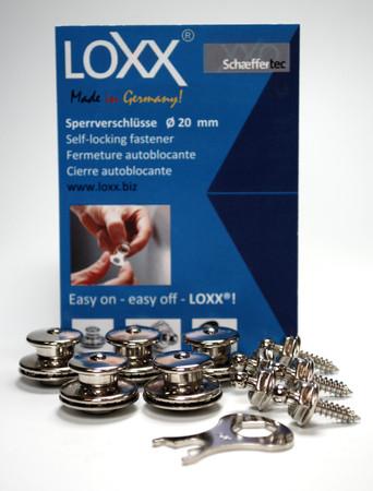 Loxx Box Medical Care - 5 Kopf groß 5 Schrauben Nickel – Bild 1