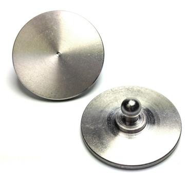 Loxx Runde Platte zum Einkleben - Edelstahl – Bild 2