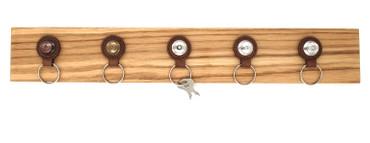 Loxx Schlüsselbrett - Holz Eiche inkl. Anhänger – Bild 1