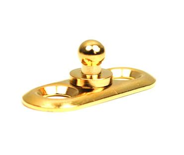 Loxx Ovale Platte - Gold