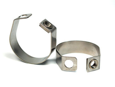 Loxx Pipe Clamp 22 mm open - Stainless steel