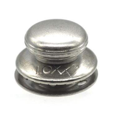 Loxx Oberteil glatter Kopf - Standard nickelfrei Silber matt