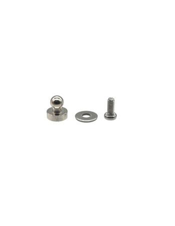 Loxx kleines Unterteil zum Schrauben M3x6mm - Nickel
