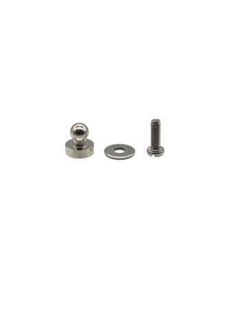 Loxx kleines Unterteil zum Schrauben M2,5x8mm - Nickel