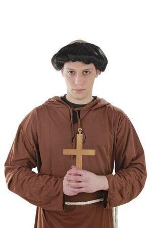 Heiliges Kreuz Kostüm Mönch Nonne Priester Karneval