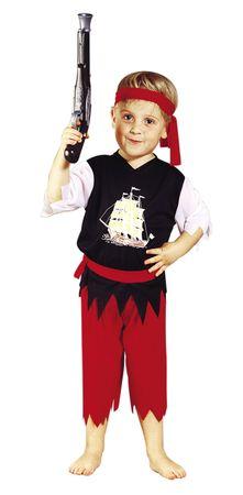 Kostüm Pirat Piratenkostüm Seeräuber Freibeuter für Kinder Kinderkostüm Gr. 98 - 116