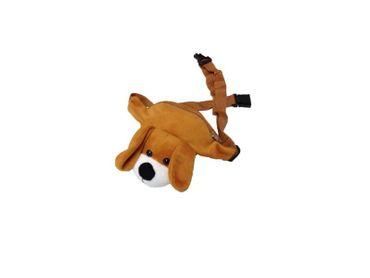 Hunde Gürteltasche Gürtel Tasche Hüftbeutel braun brauner Hüft Beutel Kindertasche Tasche Hundetasche Hundebeutel Hundehüftbeutel Kind für Kinder Kinderbeutel