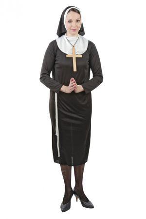 Kostüm Nonne für Damen Gr. S - XXXXL