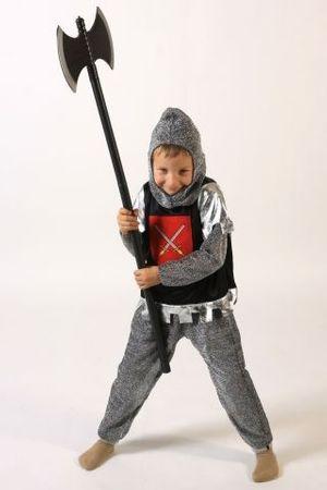 Ritterkostüm für Kinder Kinderkostüm Ritter Kostüm Gr. 98/104, 110/116, 122/128, 134/140