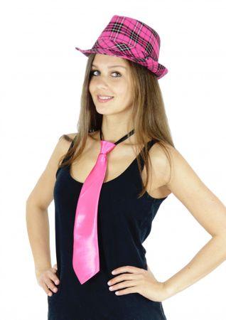 pinke Krawatte Damen JGA