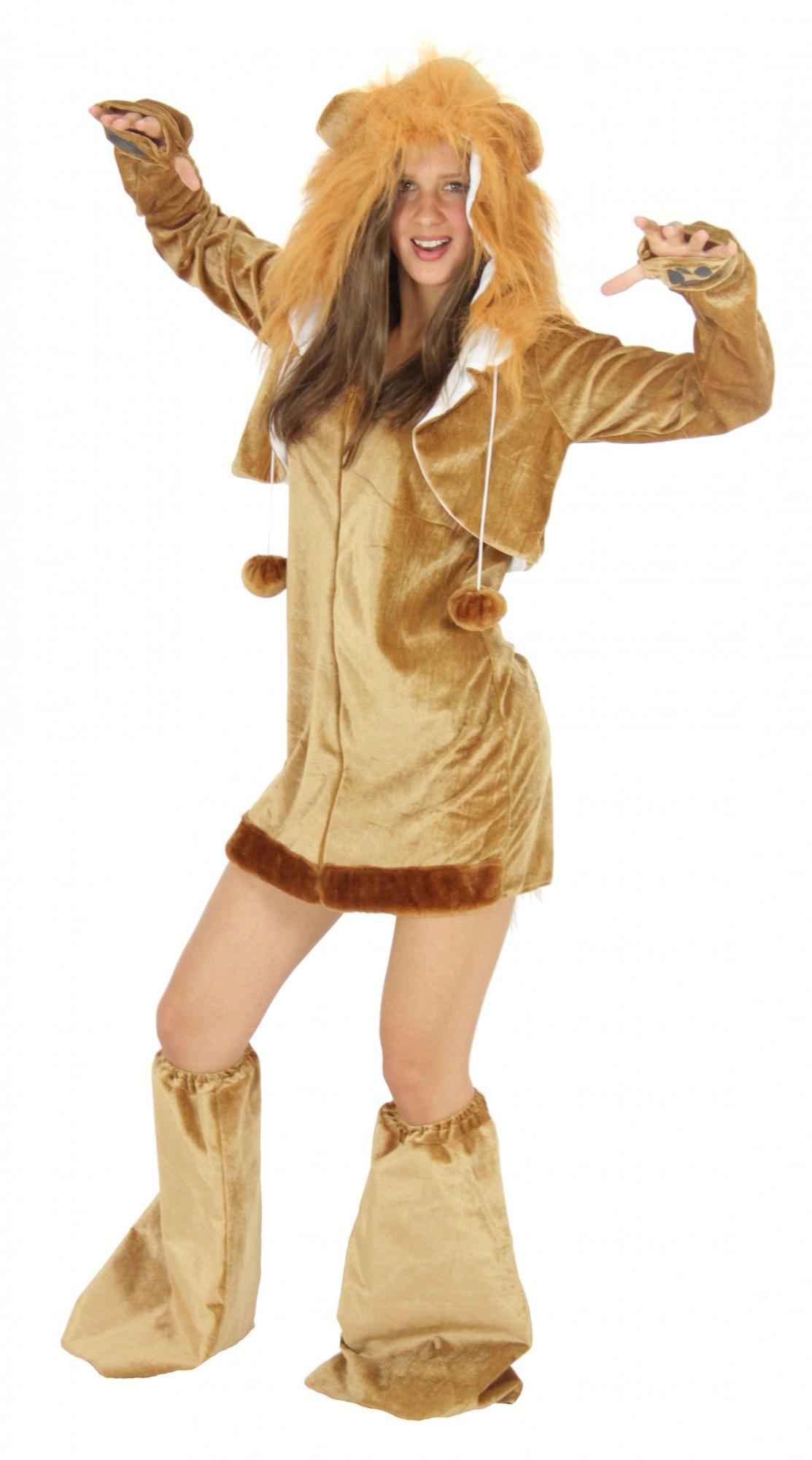 9c0e61e591c6 sexy Löwen Kostüm für Damen Damenkostüm Gr. S - XL