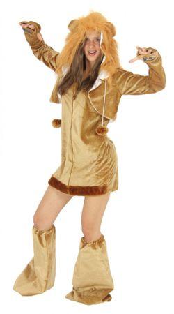 sexy Löwen Kostüm für Damen Damenkostüm Gr. S - XL