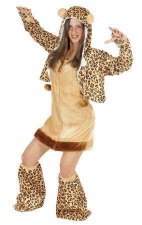 sexy Leopard Kostüm für Damen Damenkostüm Gr. S - XL