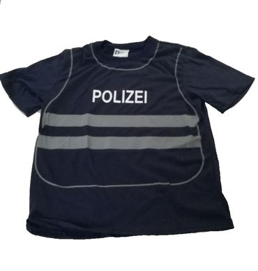 Spieleshirt Weste Polizei Kinder Uniform