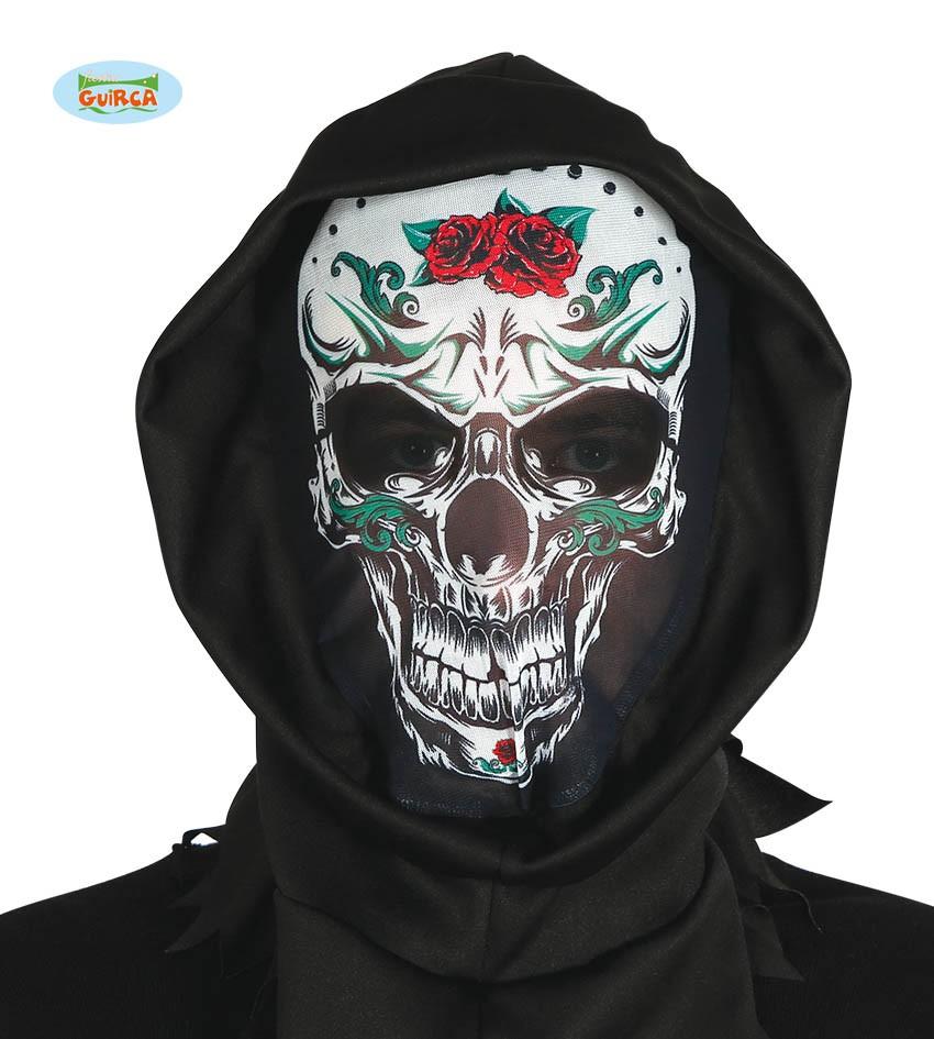 Mexikanische Totenmaske Mit Kapuze Kostum Online Shop Kostume