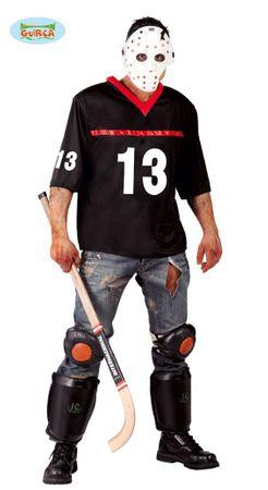 Hockey-Spieler Kostüm