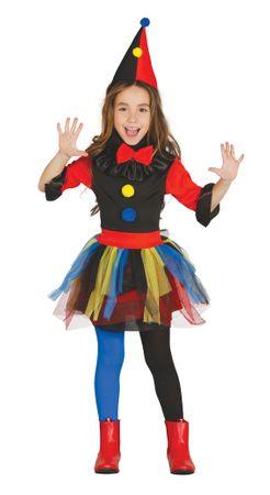 Clown Killerin Mädchen Kostüm