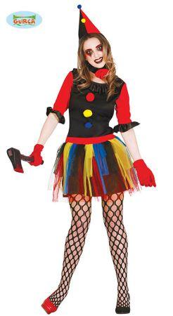 Clown Kostüm Mörderin